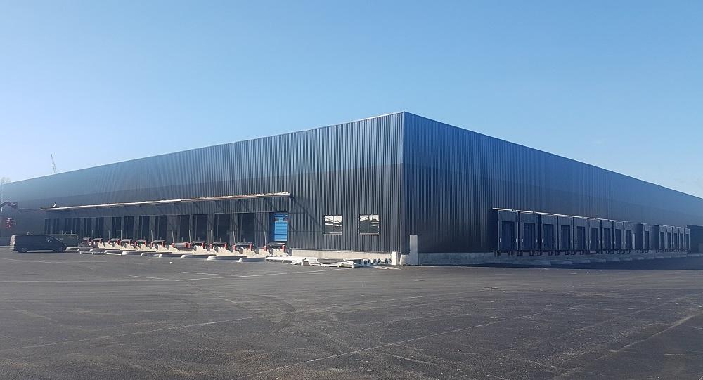 La reconversion d'une friche industrielle : 2 plateformes logistique à Bassens