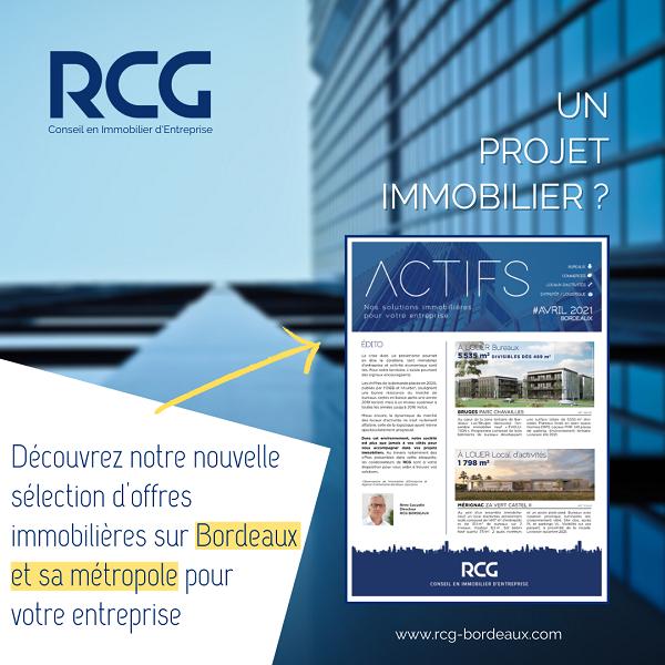 Brochure «ACTIFS» Avril 2021 – Nos solutions immobilières pour votre entreprise